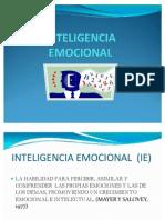 Inteligencia Emocinal Power Point