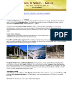 Private Tour to Ancient Olympia