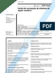 NBR 9648 - Estudo de concepção de sistemas de esgoto