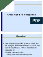 Credit Riskits Management
