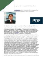 Flavio Cattaneo potenzia l' elettrodotto Bussi-Popoli