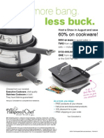 Pampered Chef August Host Special