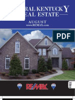 My Central Kentucky Real Estate August 2011