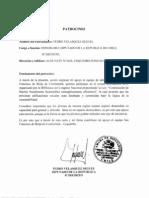 PATROCINIO Pedro Velasquez
