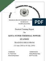 Training Report Ktps-Final