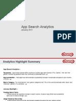 App Search Analytics January 2011