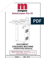 70-148 Autocreaser Pro 33 Operators Manual Iss1