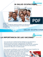 Vacunacion Salud Ocupacional 2011