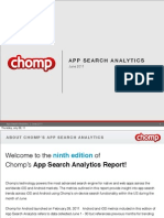App Search Analytics June 2011
