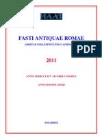 2011 - Calendario antica Roma