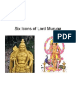Six Avatars of Lord Muruga