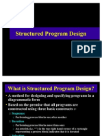 Structured Program Design