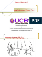 Presentaciones Efectivas en Power Point Verano Ideal