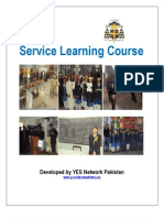 Service Learning Course Manual - Developed by YES Network Pakistan