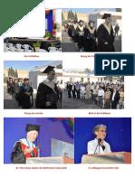 """Bilder der Graduation auf der """"Faculty of Nursing"""" Israel"""