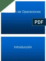 Gestión de Operaciones presentacion