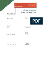 4.1 ورقة عمل تاسع-تبسيط النسبة