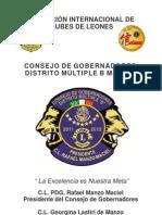 Prontuario 11-12 Consejo de Gobernadores