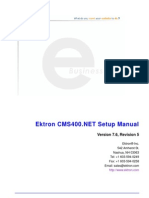 Ektron 76 Setup Manual
