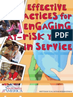 Engageing at Risk Youth in Service