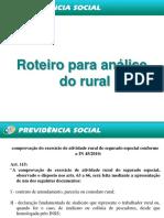 Roteiro Para Analise Do Rural