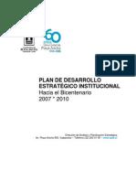 Plan de Desarrollo 08-11-27