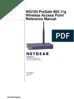 Netgear-WG103-usermanual
