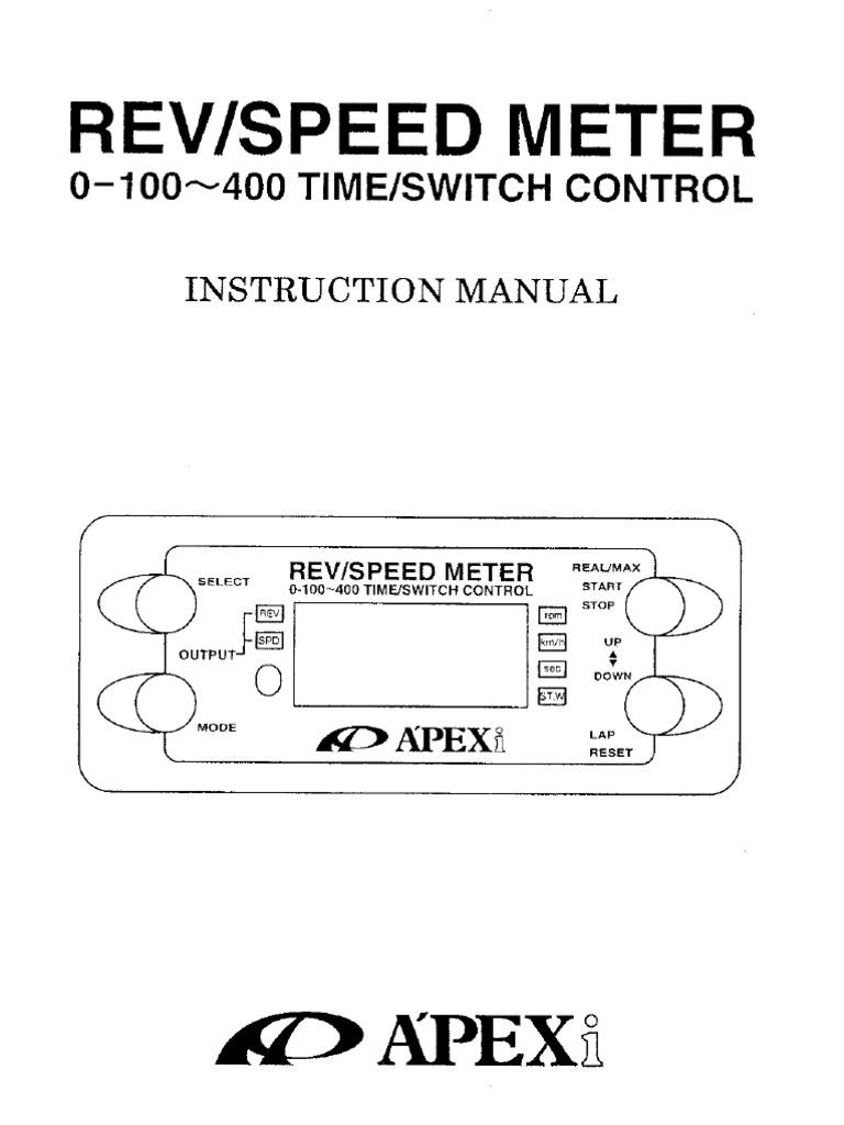 Apexi Rsm Instruction  sc 1 st  gojono.com : apexi rsm wiring - yogabreezes.com
