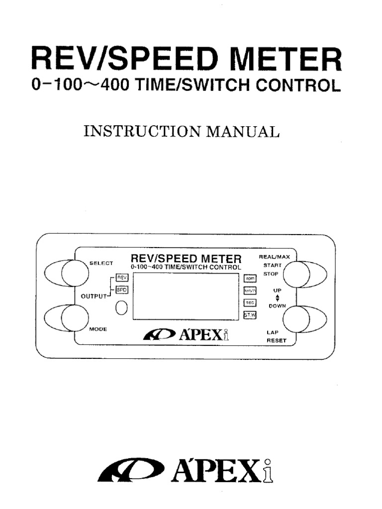 Apexi Avcr Wiring Diagram Free Download Turbo Timer Rsm Instruction As Well Boost Controller Along With