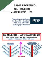 Apocalipsis 20 - El Milenio Diagrama