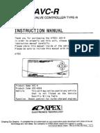 Apexi rsm manual