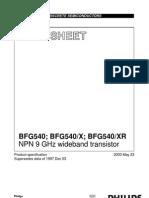 BFG540X