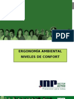 Ergonomia Ambiental Niveles de Confort