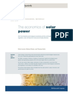 Mckinsey-Economics of Solar Power