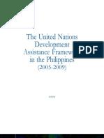 Philippines UNDAF 2005-2009