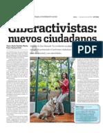 Ciberactivistas los nuevos ciudadanos.