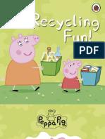 Peppa Pig - Recycling Fun !
