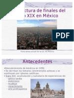 Arquitectura de finales del siglo XIX en México