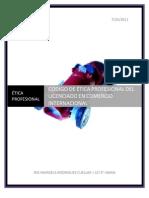 CODIGO DE ÉTICA DEL LICENCIADO EN COMERCIO INTERNACIONAL