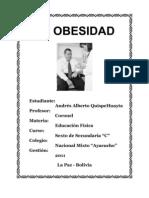 La Obesidad 2003
