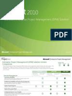 Enterprise Project Management 2010 Version Comparison