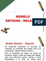 MODELO ENTIDAD - RELACION