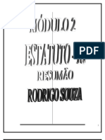 Estatuto Rj - Comentado - Rodrigo Sousa