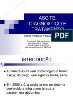 ascite - diagnóstico e tratamento