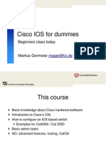 Cisco IOS for Dummies