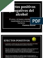 Efectos Positivos y Negativos Del Alcohol
