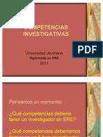COMPETENCIAS INVESTIGATIVAS1