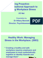 Organisational Stress Management