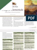 Magma Elementals