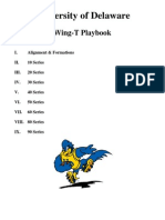University of Delaware Wing-t Offense